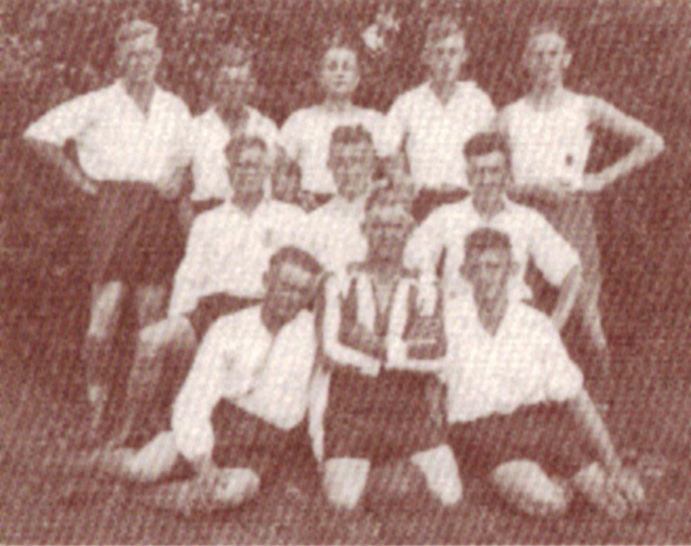 1931 : Fußballer in Kaufmann Schröders Garten